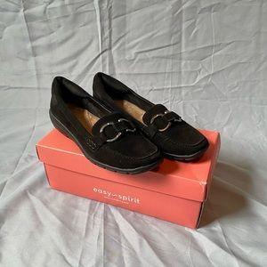 Easy Spirit Avienta Slip on Loafers Black, Size 5